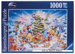 1000 pieces jigsaw puzzle Disney   Christmas with Disney (192875