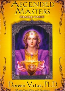 Ascended Masters 44 Oracle Cards Boxed Doreen Virtue