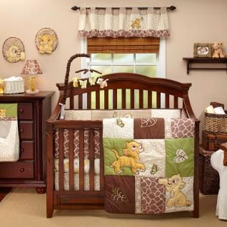 Leopard Nursery Baby Boy/Girl 4pc Disney Animal Theme Crib Bedding Set
