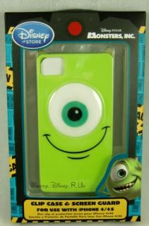 New Disney Store Mike Wazowski Monsters Inc iPhone 4 4S Case Cover New