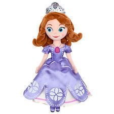 DISNEY Channel Store PRINCESS SOFIA the First 13 PLUSH Doll MINT NEW S