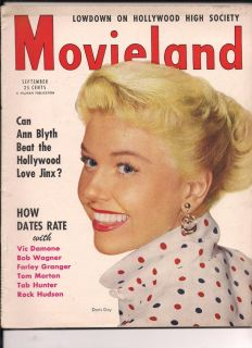 MOVIELAND 1953 DORIS DAY MARILYN MONROE I Know ROBERT TAYLOR LIZ SCOTT