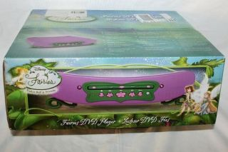 Disney Fairies Tinkerbell and Friends DVD Player New