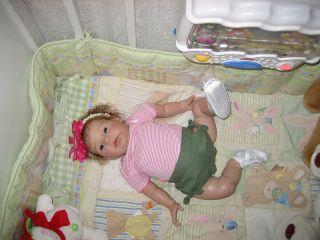 Babies Nursery Presents Beautiful Reborn Doll, Honey by Donna RuBert