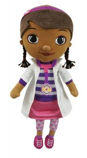 Disney Junior DOC McSTUFFINS Beanbag Plush DOTTIE VHTF NWTs