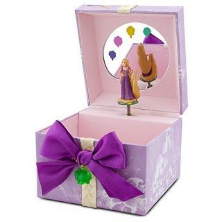 Disney Tangled RAPUNZEL Princess Musical JEWELRY Keepsake BOX NEW