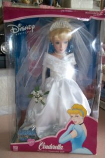 Disney Princess Cinderella Porcelain Doll