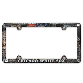 Chicago White Sox Plastic License Plate Frame