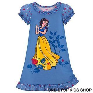 Snow White Girls 2T 3T 4T 5T 4 5 6 7 8 10 Pajamas Nightgown PJs Disney