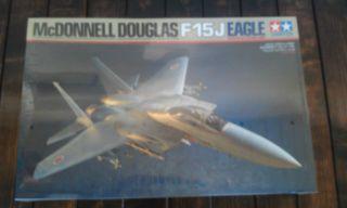 McDonnell Douglas F 15J Eagle JET FIGHTER MODEL TAMIYA 1 32 scale
