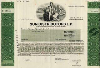 Wholesale Lot 5 x SUN DISTRIBUTORS L.P PA Sun Oil