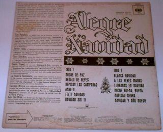 Navidad Los Panchos Cuco Sanchez Javier Solis 2 Oros LP