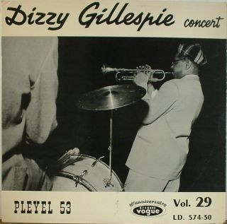 Dizzy Gillespie Concert Vogue 574 30 France