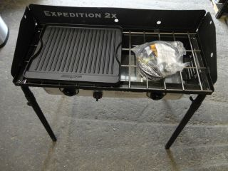 Camp Chef Expedition 2X Double Burner Propane Stove