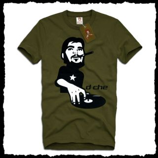 Cool DJ Che Guevara Turntables Club T Shirt s Party Cuba Freedom Vinyl