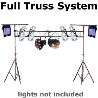 DJ EQUIPMENT LTS 31 CH 31 COMPLETE PORTABLE DJ LIGHTING TRUSS TRUSSING