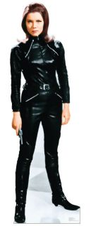 The Avengers Emma Peel Diana Rigg Lifesize Standup Standee Cutout