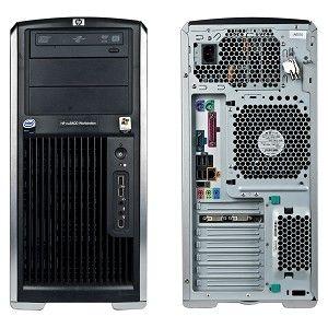 HP XW8400 Workstation 2 x XEON DUAL CORE DVD RW WINDOWS 7 PRO