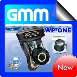 DiCAPac WP One Waterproof Case Underwater Housing Bag Drybag for