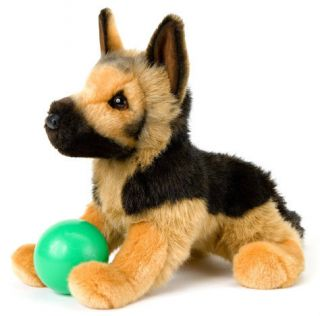 GENERAL by Douglas Cuddle Toys plush 14 GERMAN SHEPHERD stuffed animal