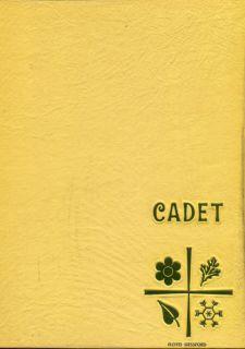 Douglas MacArthur High School Decatur Illinois Yearbook Cadet 1968