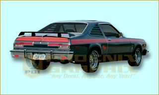 1976 1977 Dodge Aspen R T RT Complete Decals Stripes Kit