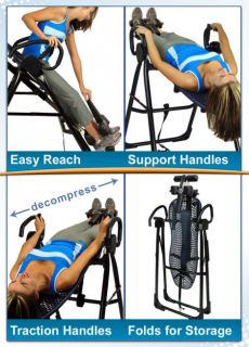 Teeter Hang UPS EP 950 Inversion Table w Ergo Embrace Ankle System Mfg