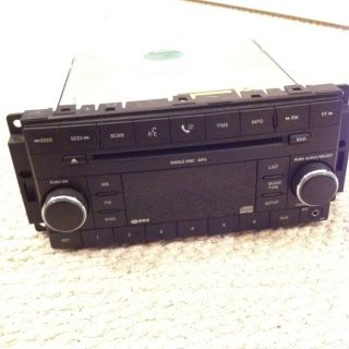Chrysler Dodge Jeep Media Center 130 RES Radio CD  STEREO