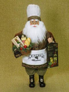 Karen Didion Originals Tuscan Kitchen Santa 16 inch CC16 46