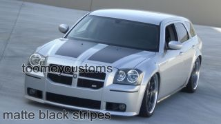 Dodge Magnum Hood Stripes Custom Decals Graphics Mopar