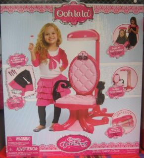 Dream Dazzlers Stylin Salon Chair Ooh La La Pink Hair Dresser Set New