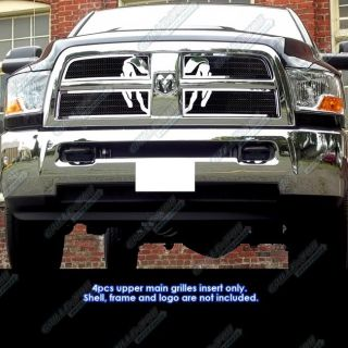 2010 2012 Dodge Ram 2500 3500 Symbolic Stainless Steel Mesh Grille
