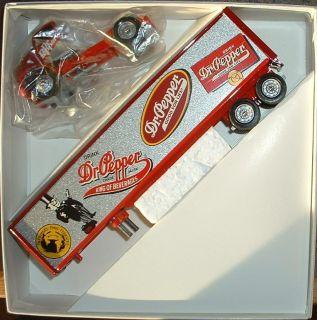 Dr Pepper Soft Drink Soda Historical 1 95 Winross Truck