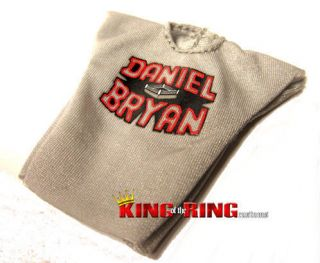 WWE MATTEL Elite DANIEL BRYAN Wrestling Figure T Shirt Accessories YES