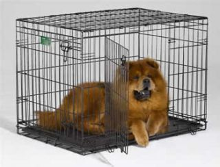 36 Dog Crate Cage iCrate Double Door Dog Crate MidWest Model 1536DD