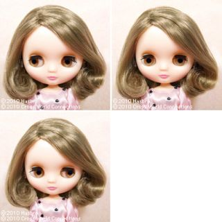 Takara Middle Blythe Doll CWC Little Lily Brown Milk