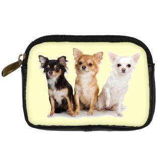 Chihuahua Puppies Digital Camera Bag Case Accessories