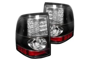 Explorer LED Tail Lights Pair Black Truck SUV Rear Brake Stop Light