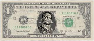 Chris Benoit WWE Dollar Bill Real USD Celebrity Novelty Money
