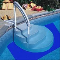 5x5 Above Ground Swimming Pool Step Liner Ladder Pad