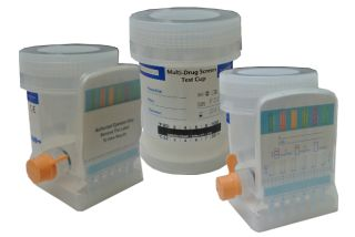 Drug Test Testing Kit with Integrated Urine Cup