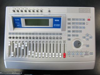 D1600 Portable Digital Recording Studio Multitrack Recorder D 1600