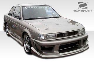 1991 1994 Nissan Sentra 2DR Duraflex Drifter Complete Body Kit