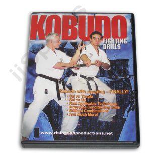 Kobudo Fighting Drills DVD Karate Bo Tonfa Sai Nunchaku Ryu Kyu Hozon