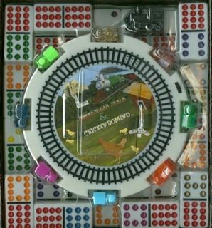 Mexican Train Double 12 Domino Dominoes Color Dots Hub
