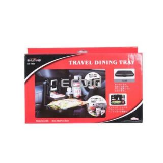 Travel Dining Tray Car Auto Tray Food Table Desk Stand Drink Cup