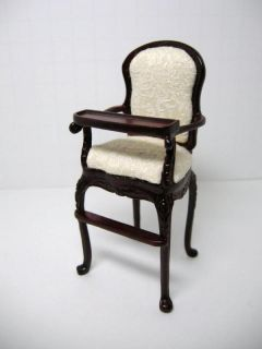 dollhouse famous maker furniture 1644 high chair dollhouse miniature 1
