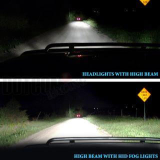 Grand Vitara HID Off Road Fog Lights Driving Lamps Set