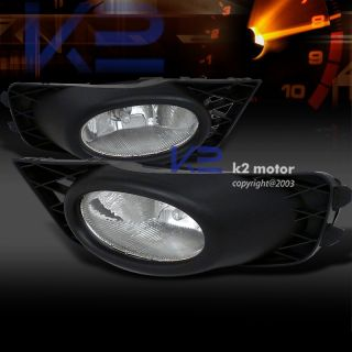2009 2011 Honda Civic Sedan JDM Driving Fog Lights Set