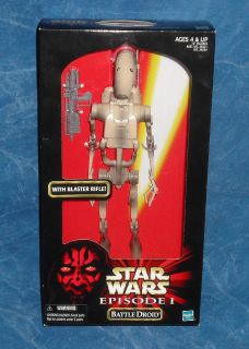 Star Wars Battle Droid Episode 1 12 inch Action Figure